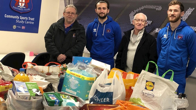 Cuosc Record Response To Foodbank Appeal News Carlisle