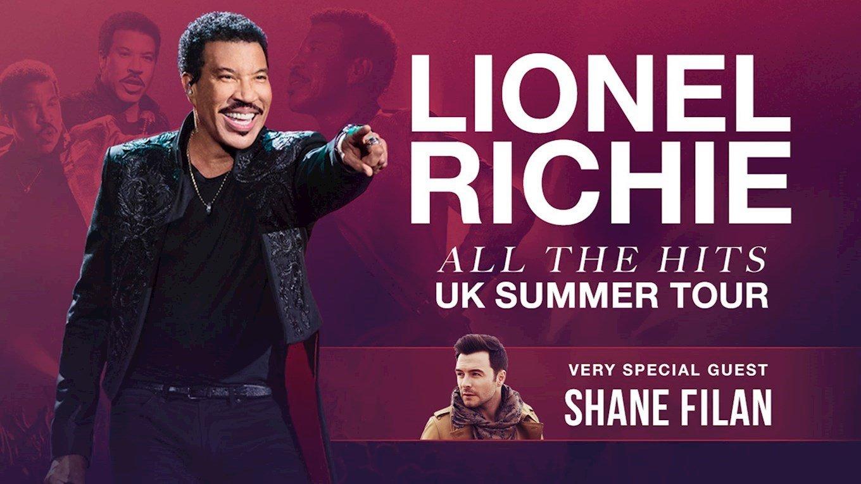 CONCERT: Pop star Shane Filan to support Lionel Richie at