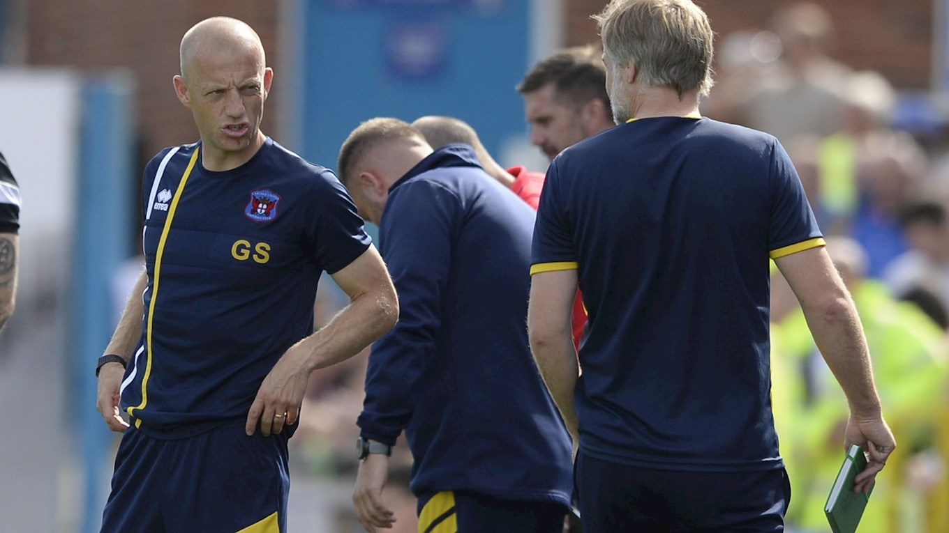 MANAGER: It has to become winning football - News - Carlisle